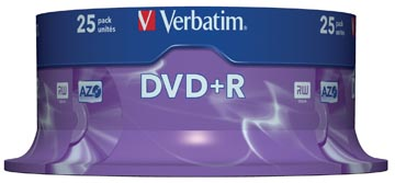 DVD+R 4,7GB 16X SPINDEL 25X