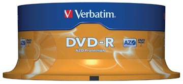 DVD-R 4,7GB 16X SPINDEL 25X